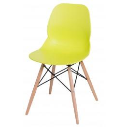 INTESI Krzesło Layer DSW limonkowe