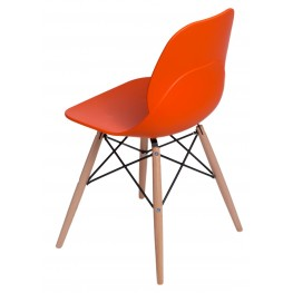 INTESI Krzesło Layer DSW pomarańczowe