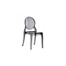 INTESI Krzesło Mia black transp