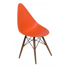 INTESI Krzesło Rush DSW pomarańczowe/dark