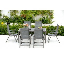 INTESI Krzesło składane z podłokietnikami Solana