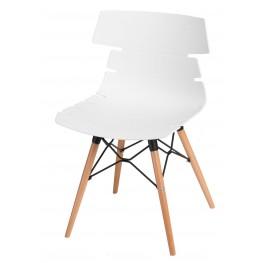 INTESI Krzesło Techno DSW PP białe
