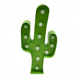 INTESI Lampka dekoracyjna Cactus zielona