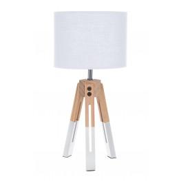 INTESI Lampka stołowa Intesi Brex biała