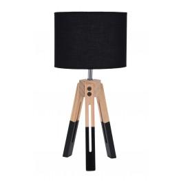 INTESI Lampka stołowa Intesi Brex czarna