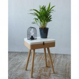 INTESI Lampka stołowa LED Indea Triangle Intesi