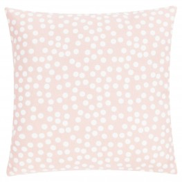 INTESI Poduszka Allover Dots 45x45 różowa