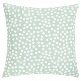 INTESI Poduszka Allover Dots 45x45 zielona
