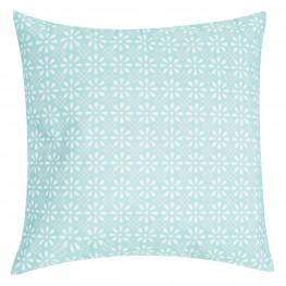 INTESI Poduszka Daisy Flower 47x47 niebieska