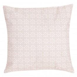 INTESI Poduszka Daisy Flower 47x47 różowa