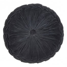 INTESI Poduszka Kanan Velvet antracyt 40x10cm