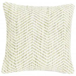 INTESI Poduszka Melange Zigzag 45x45 zielona