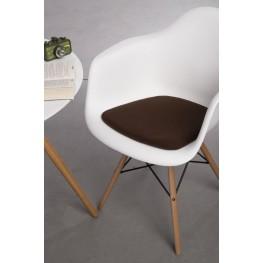 INTESI Poduszka na krzesło Arm Chair brązowa