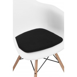 INTESI Poduszka na krzesło Arm Chair czarna