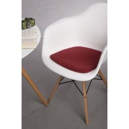 INTESI Poduszka na krzesło Arm Chair czer. mel.