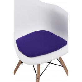 INTESI Poduszka na krzesło Arm Chair fioletowa
