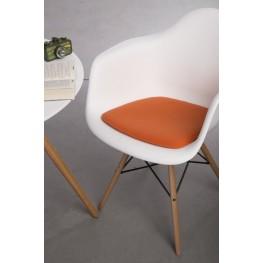 INTESI Poduszka na krzesło Arm Chair pomarańcz