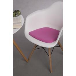INTESI Poduszka na krzesło Arm Chair różowa
