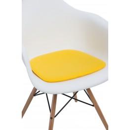 INTESI Poduszka na krzesło Arm Chair żółta