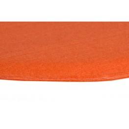 INTESI Poduszka na krzesło Side Chair pomarańcz