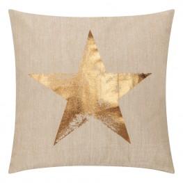 INTESI Poduszka Star lniana baza 45x45
