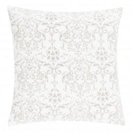 INTESI Poduszka Stonewash Ornament 50x50 biała