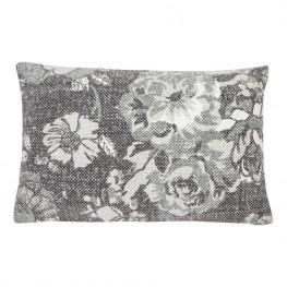 INTESI Poduszka Vintage flower szara 35x50