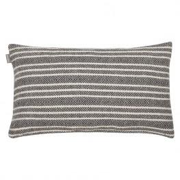 INTESI Poduszka Winford biało-czarna 30x50