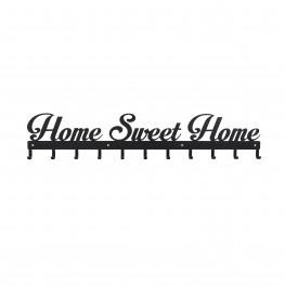 INTESI Wieszak Sweet Home czarny