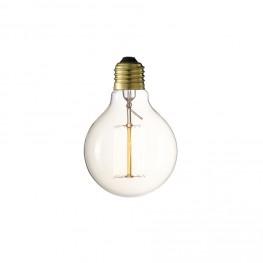 INTESI Żarówka Edisona okrągła