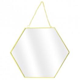 INTESI Zestaw 3 lusterek Hexa Gold