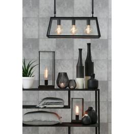 LIGHT&LIVING Lampa stołowa Burnaby czarna