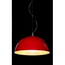D2.DESIGN Lampa wisząca Luminato 70cm czerwona