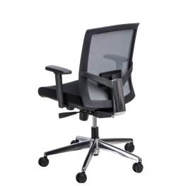 MADUU STUDIO Fotel biurowy Ergo szary/czarny