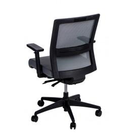 MADUU STUDIO Fotel biurowy Press szary/szary