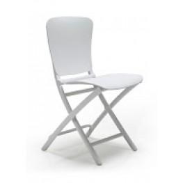 NARDI Krzesło składane Zac - Biały