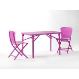 NARDI Krzesło składane Zac fioletowe