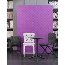 NARDI Krzesło składane Zac Spring białe