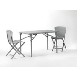 NARDI Krzesło składane Zac - Szary