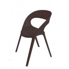 RESOL Krzesło Carla czarne