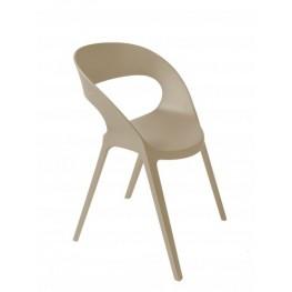 RESOL Krzesło Carla piaskowe