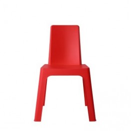 RESOL Krzesło dziecięce Julieta czerwone