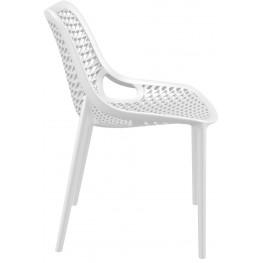 RESOL Krzesło Grid białe