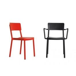 RESOL Krzesło Lisboa czerwone