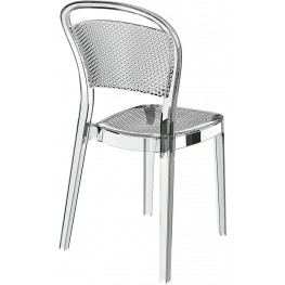 RESOL Krzesło Visual transparentny
