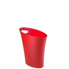 UMBRA Kosz na śmieci Skinny czerwony