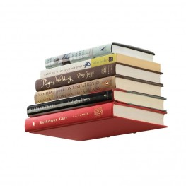UMBRA Półka na książki, duża, srebrna, CONCEAL