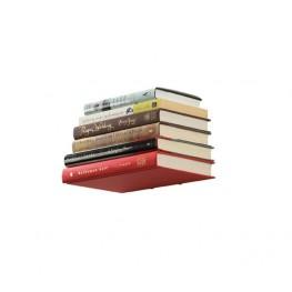 UMBRA Półka na książki mała, srebrna, CONCEAL