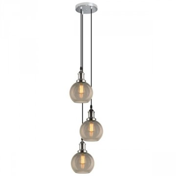 ALTAVOLA DESIGN Lampa wisząca New York Loft 2 CO SCH dymiona