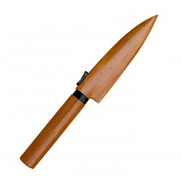SATAKE Japoński Nożyk do Owoców w drewnianej pochwie 9,5 cm 805-315